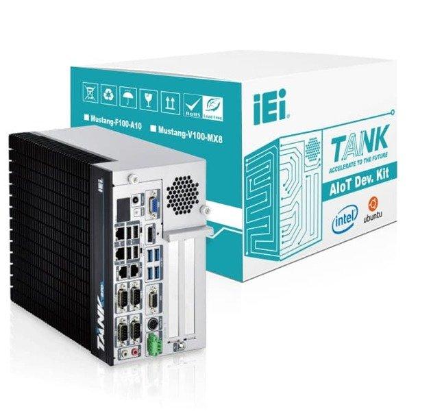 IEI, Tank AIoT Developer Kit, bezwentylatorowy komputer